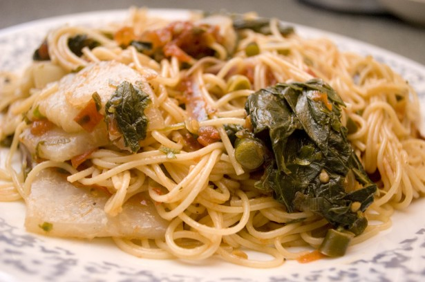 Kohlrabi and Pasta Recipe