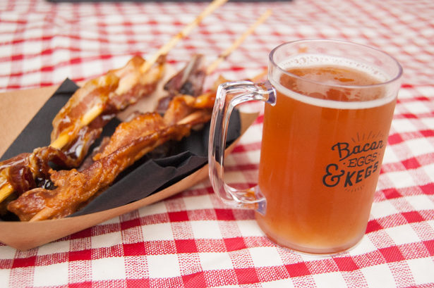 bacon eggs and kegs